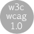[wai &ndash; wcag 1.0!]